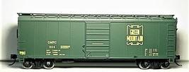 Bowser HO Scale 42719 Green Mountain 40'  Box car  #504 image 1