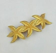 Vintage gold tone starfish hair clip France accessories  - €38,37 EUR