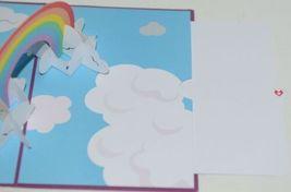 Lovepop LP1859 Rainbow Pop Up Card  Slide Out Note Envelope Cellophane Wrap image 4