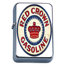 Vintage Poster D257 Windproof Dual Flame Torch Lighter Red Crown Gasoline - $12.82