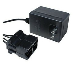 12v Power Wheels black BATTERY CHARGER adapter cord plug electric Jeep Wrangler - $49.45