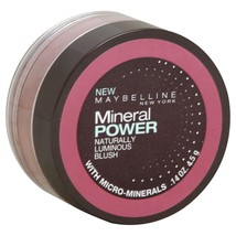 Maybelline Mineral Power Naturally Luminous Blush .14Oz/4.5G - Fresh Plum - New - $10.40