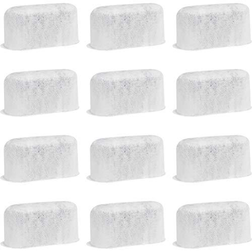 Fette Filter - Set of 12 Activated Charcoal Water Filters Replacements Compatibl