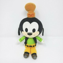 "9"" DISNEY KINGDOM HEARTS GOOFY YELLOW HAT FUNKO STUFFED ANIMAL PLUSH TOY... - $18.70"