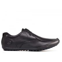 Mens Waxy Shield London Shoes Black Base Lace 5qvxRX
