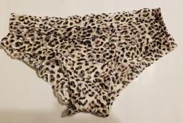 Victoria's Secret THE LACIE Mesh Lace Panty Animal Print 100% Nylon Size M, NWT - $13.05
