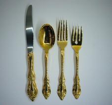 Golden Artistry Community Oneida Knife Fork Salad Fork Spoon One Place S... - $38.29