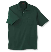 Pocket Polo Golf Shirt Jerzees 436MP, Adult, Hot Sports Colors, Cotton B... - $28.35 CAD+