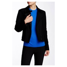 Vince Quilted Contrast Wool Blend Jacket, Size 4 - 8 - $143.17