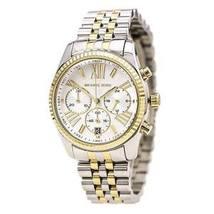 Michael Kors MK5955 Lexington Chronograph Two Tone Ladies Watch - $229.27