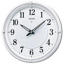 SEIKO Clock Clock Fine Light NEO Automatic Lights Analog Radio Hanging Clock (Wh - $208.27