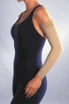 Women's 20-30 mmHg Arm Sleeve Size: Large, Color: Brown - $56.22