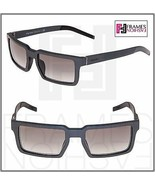 PRADA 50S TECHNIQUE Square Graphite Brushed Aluminum Gradient Sunglasses... - $291.06