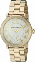 "NWOT Marc Jacobs  MJ3470 Women's ""Riley"" Gold-Tone Watch - $89.05"