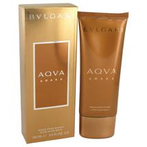 Bvlgari Aqua Amara After Shave Balm 3.4 Oz For Men  - $32.67