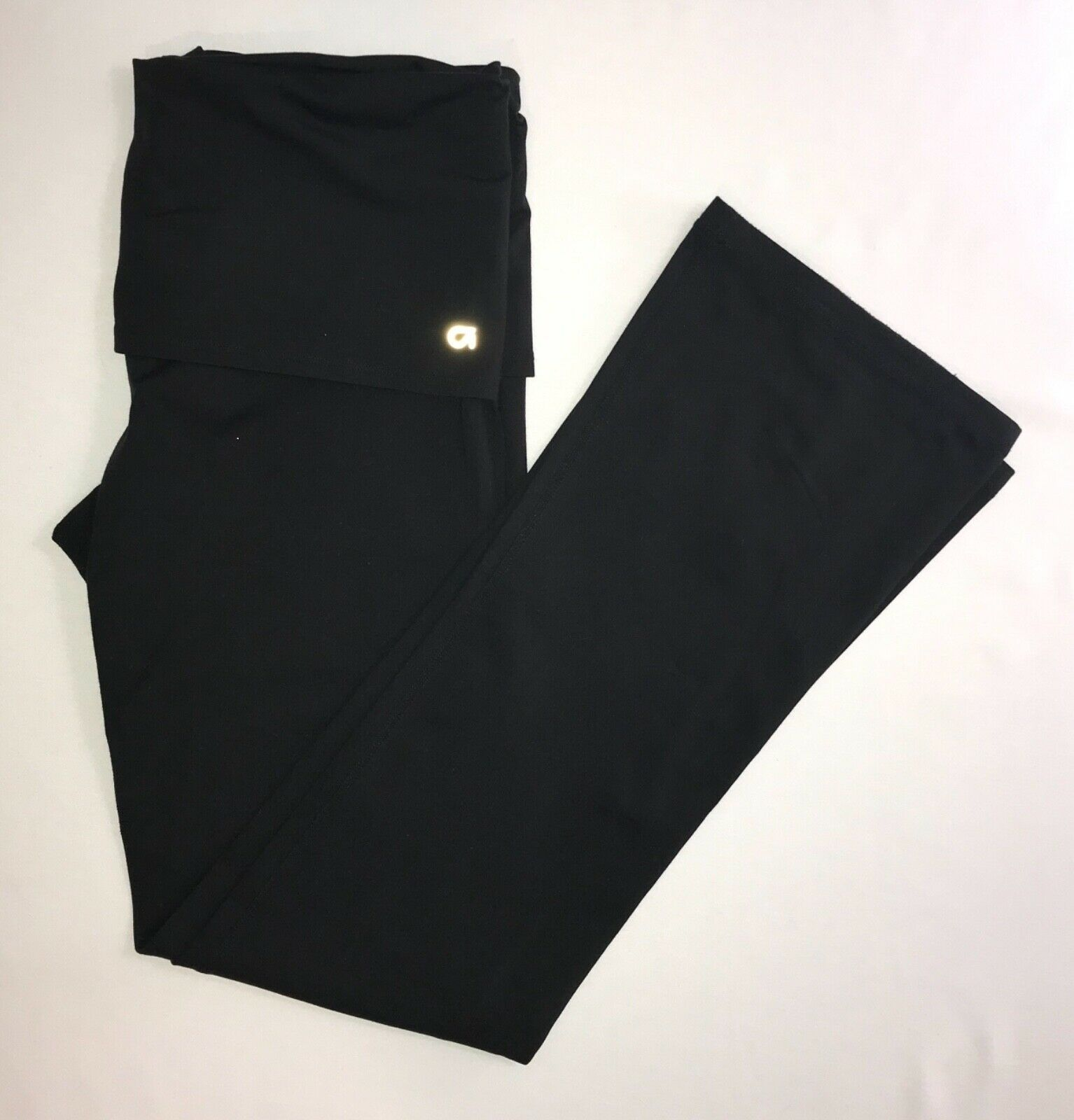Primary image for Gap BodyFit G Dance Straight Leg Yoga/Running Pants black Large for Movement