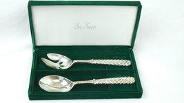 Silver Treasures by Godinger Vintage Silver Plate Serving Spoon Set - $547,68 MXN