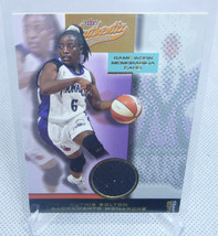 2002 Fleer Authentix WNBA Ruthie Bolton Authentic Game Worn Material Relic Card - $4.94