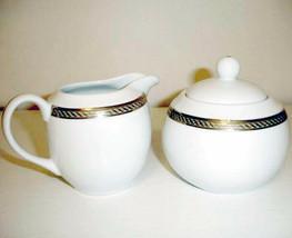 Gorham Warwick Gold Sugar Bowl & Creamer 2 Piece Set New - $39.90
