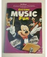Disney's Classic Cartoon Favorites EXTREME MUSIC FUN DVD Volume 6 NEW/SE... - $34.99