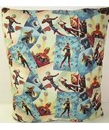 Marvel Super Hero Squad MS MARVEL Pillow Carol Danvers Avengers 17 X 20  - $16.70