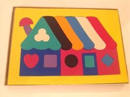 Lauri Rubber Puzzle 18 Pieces House 2151 Vintage 1979 Maine Toy Ages 4 a... - $24.18