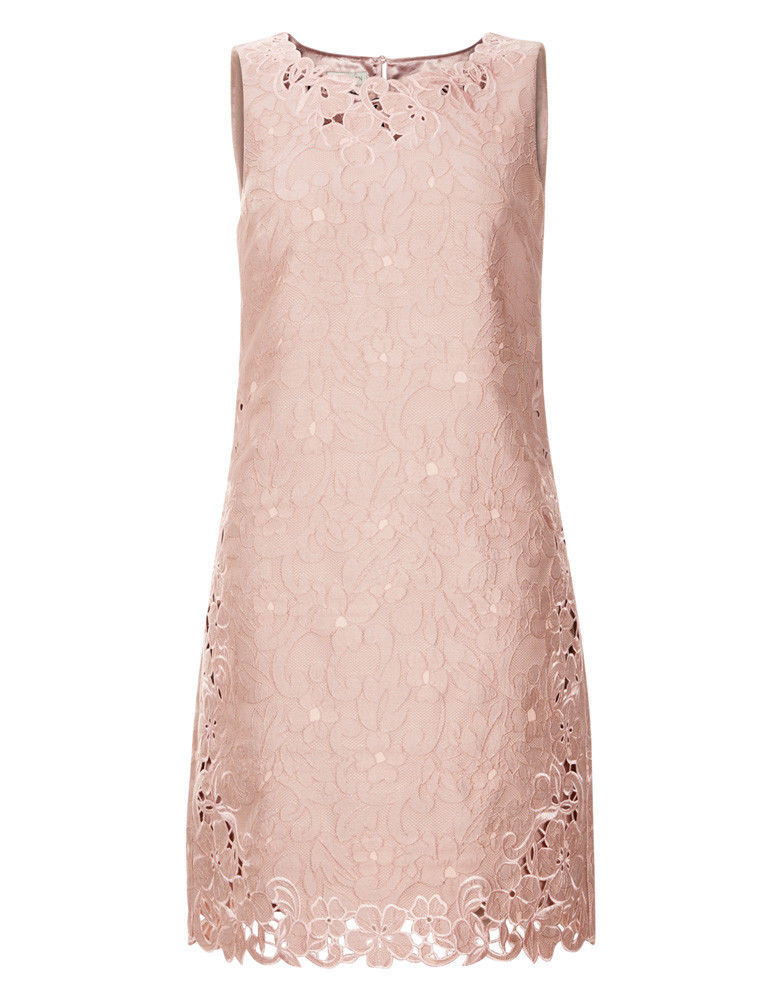 MONSOON Daisy Jacquard Dress Pink Size UK 12 BNWT image 3