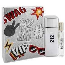 212 Vip by Carolina Herrera Gift Set -- 3.4 oz Eau De Toilette Spray + .... - $84.52
