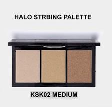 KISS NEW YORK PROFESSIONAL HALO STROBING PALETTE KSK02 MEDIUM SHIMMER HI... - $14.84