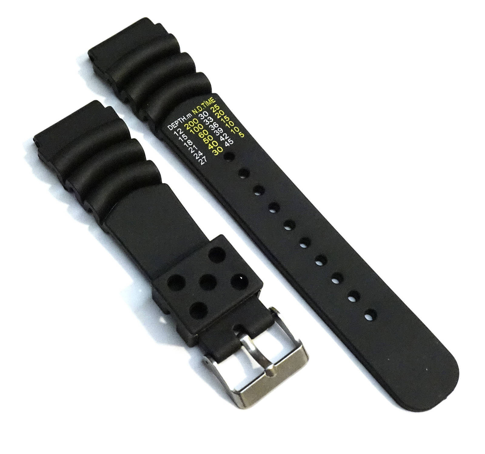 New Z22 Seiko Rubber Divers Watch Band Strap 22mm - From U.S