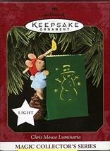 Hallmark Keepsake Ornament Chris Mouse Luminaria Magic Collector's Serie... - $16.35