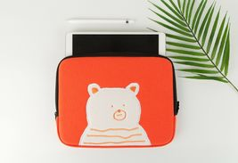 AllNewFrame Indifferent Bear iPad Laptop Protective Sleeve Pouch Bag Cover Case  image 3