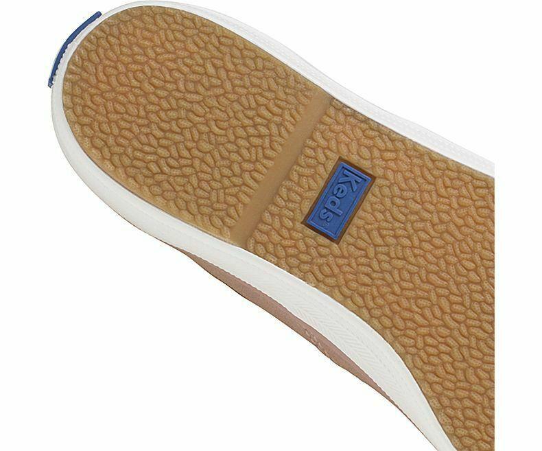 Keds WH58932 Women's Champion Glitter Suede Rose shoe, 7 Med