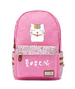 Natsume s book of friends madara pink backpack schoolbag for kids girls bags thumbtall