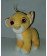 Vintage '93 Mattel Disney's The Lion King Simba Magnetic Kissing Plush T... - $14.85