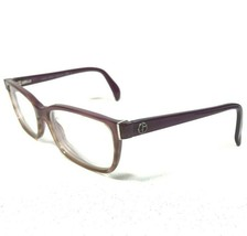 Giorgio Armani Glasses Eyeglasses Frames Rectangle Clear Purple Brown GA... - $28.04