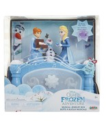 New in Box Disney Olaf's FROZEN Adventure Musical Jewelry Box Anna Elsa ... - $18.08