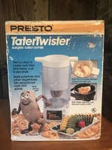 NEW Presto Tater Twister Electric Curly Cutter Potato Spiral Slicer Frie... - €45,65 EUR