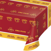 "Iowa State Univ 54"" x 108"" Plastic Tablecover/Case of 12 - €52,02 EUR"