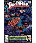 The Adventures of Superman Comic Book #454 DC Comics 1989 VERY FINE UNREAD - $2.25