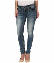 Rock Revival Women's Premium Skinny Light Denim Jeans Woven Pants Adele S41 image 2
