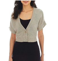 Worthington 2-Button Textured Cardigan Sweater Size M Msrp $40.00  - $14.99