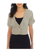 Worthington 2-Button Textured Cardigan Sweater Size M Msrp $40.00  - $14.99