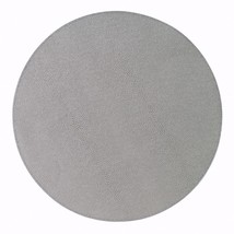 Set of 6 Bodrum Skate Gray Round Placemats - $156.85