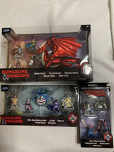 Dungeons & Dragons Die Cast lot of 3 sets Figures, Dragon New 2020 - $55.99