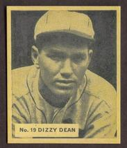 DIZZY DEAN Card RP #19 Cardinals RC 1936 WWG Free Shipping - $2.75