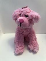 The Petting Zoo Posh Plush Pink Scruffy Dog - 11 Inches A17 - $12.99