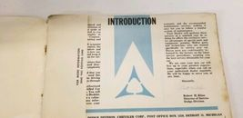 1963 Dodge Dart Owners Manual And Owners Service Certificate Book image 6