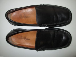 Cole Haan 87186 Shiny Full Grain Leather Loafer Men' Shoes Black 8M  - $56.99
