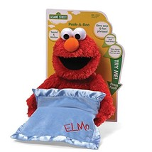 "GUND Sesame Street Peek A Boo Elmo Animated 15"" Plush - $47.73"